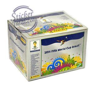 SEALED BOX x 100 ENVELOPES BRAZIL 2014 – PANINI