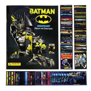 ALBUM + COMPLETE STICKERS SET BATMAN 80 ANNIVERSARY- PANINI