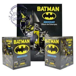 EMPTY ALBUM + 2 SEALED BOXES BATMAN 80 ANNIVERSARY- PANINI