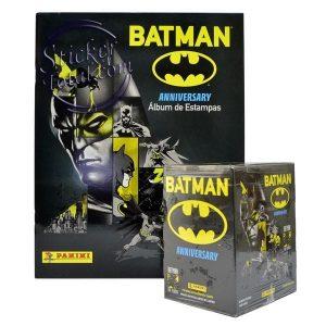 EMPTY ALBUM + SEALED BOX BATMAN 80 ANNIVERSARY- PANINI