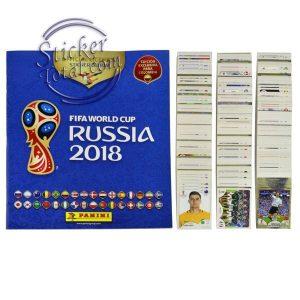 ALBUM + COMPLETE STICKERS SET 2018 FIFA WORLD CUP – PANINI