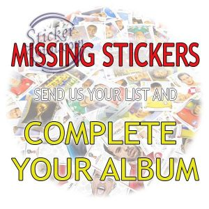 MISSING STICKERS MY LITTLE PONY – PANINI
