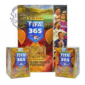 ALBUM + 2 SEALED BOXES x 50 ENVELOPES FIFA 365 2020 (442 Stickers Version) – PANINI