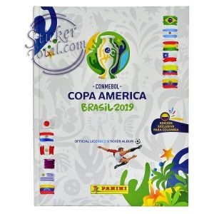 EMPTY ALBUM HARDCOVER COPA AMERICA 2019 – PANINI
