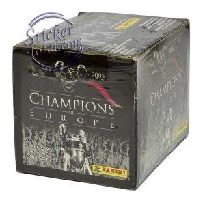 SEALED BOX CHAMPIONS OF EUROPE 1955-2005 – PANINI