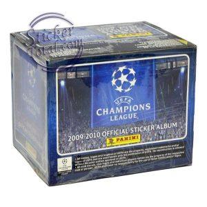 SEALED BOX CHAMPIONS LEAGUE 2009-2010 – PANINI