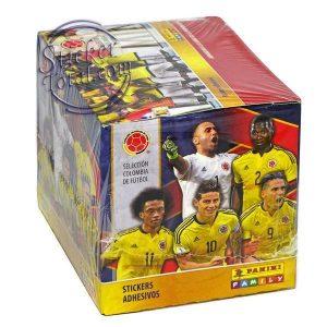 SEALED BOX x 50 ENVELOPES COLOMBIA TEAM FOOTBALL 2018 – PANINI