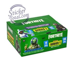 SEALED BOX x 24 PACKS FORTNITE SERIES 1 – PANINI