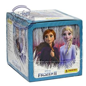 SEALED BOX x 50 ENVELOPES FROZEN 2 PANINI