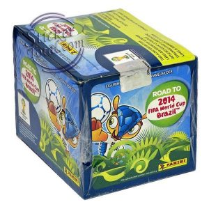 SEALED BOX x 50 ENVELOPES ROAD TO BRAZIL 2014 – PANINI