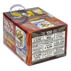 BOX x 100 ENVELOPES SOUTH AFRICA 2010 PANINI