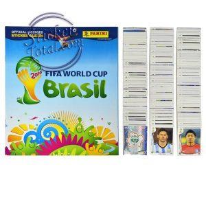 ALBUM + COMPLETE STICKERS SET 2014 FIFA WORLD CUP – PANINI