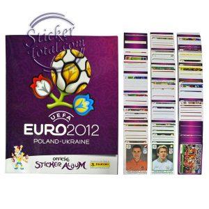 ALBUM + COMPLETE STICKERS SET EURO 2012 – PANINI