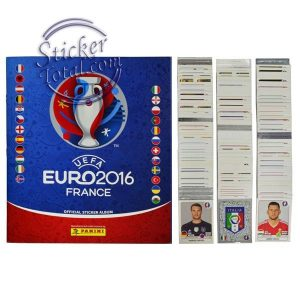 COMPLETE STICKERS SET EURO 2016 – PANINI