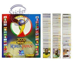 ALBUM + COMPLETE STICKERS SET 2002 FIFA WORLD CUP – PANINI