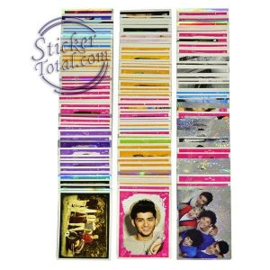 Complete Stickers set one direction panini