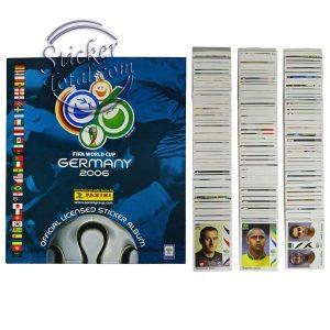 ALBUM + COMPLETE STICKERS SET 2006 FIFA WORLD CUP – PANINI