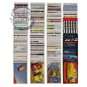 complete stickers set cars 3 panini