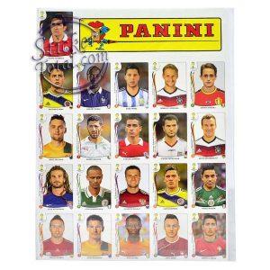 UPDATE SET WORLD CUP 2014 BRAZIL – PANINI