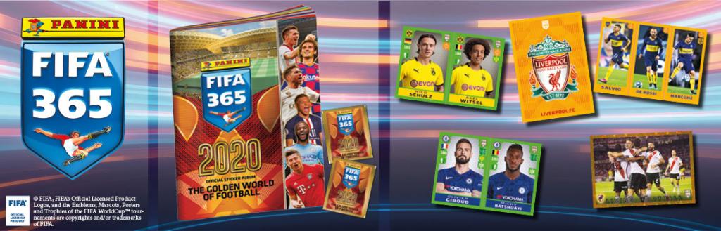 PANINI FIFA 365 2020