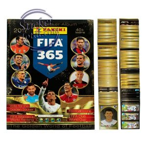 ALBUM + COMPLETE STICKERS SET FIFA 365 2017 PANINI
