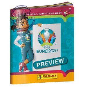ALBUM + SELAED BOX EURO 2020 PREVIEW – PANINI