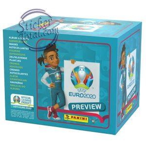 60 ENVELOPES BOX EURO 2020 PREVIEW – PANINI