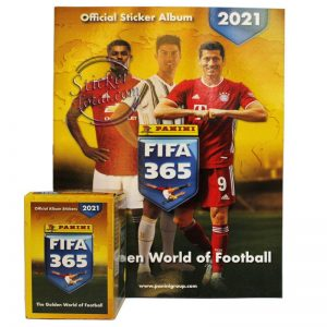 ALBUM + BOX FIFA 365 2021 PANINI