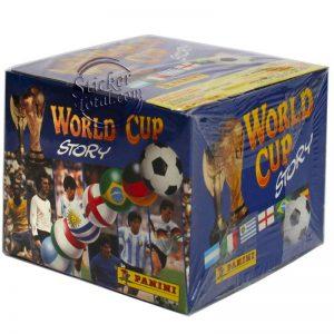SEALED BOX WORLD CUP STORY PANINI