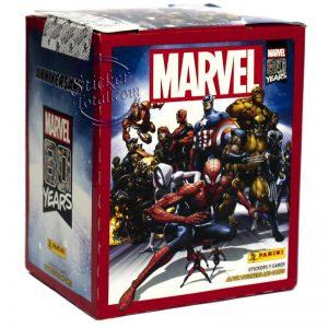 MARVEL 80TH ANNIVERSARY PANINI BOX
