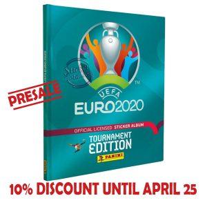 HARDCOVER EMPTY ALBUM EURO 2020 – PANINI