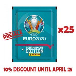 25 ENVELOPES EURO 2020 – PANINI